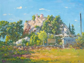 Alexandrovsky Alexander. Church of the Profitis Ilias, Ayia Napa