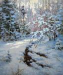 Demin Sergey. Winter in forest