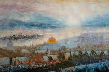 Minaev Sergey. View of the Temple Mount
