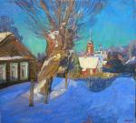 Komov Alexey. Winter. Oryol's motive.