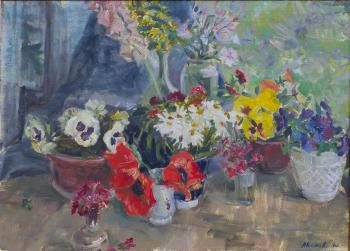 The flowers. Summer is in full swing. Komov Alexey