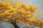 Apazidis Dimitris. Yellow tree