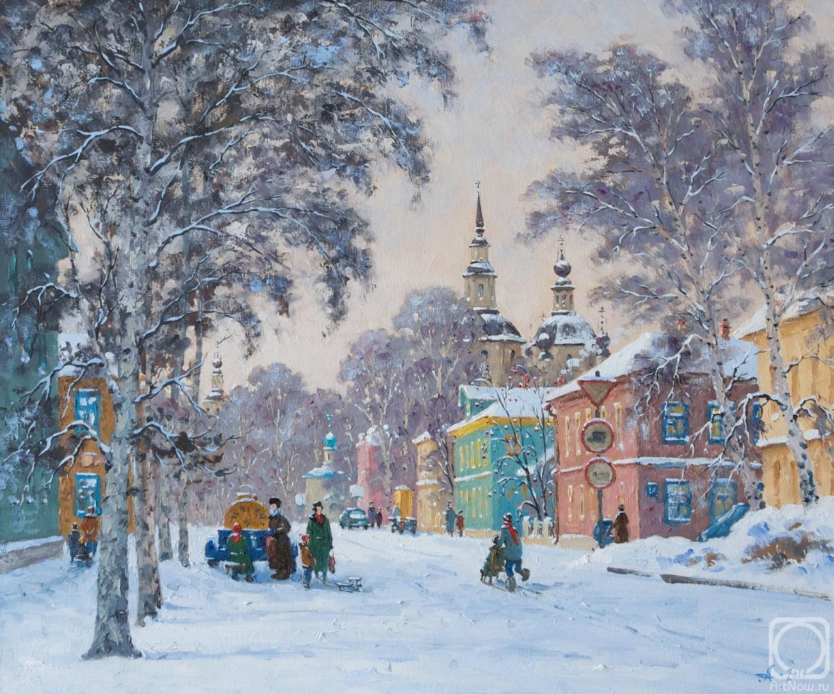 Alexandrovsky Alexander. Russian winter. Great Ustug