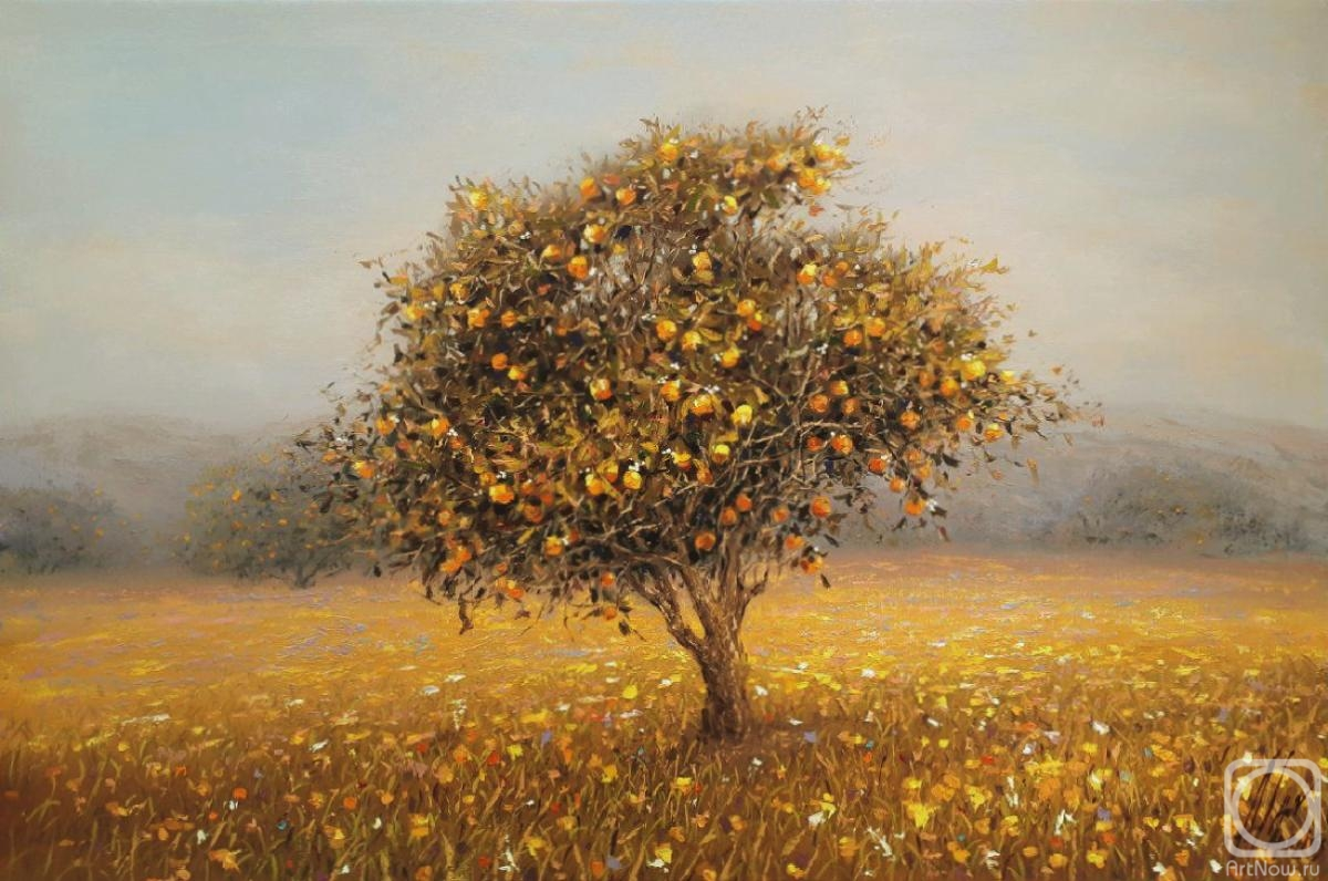 Apazidis Dimitris. Orange tree