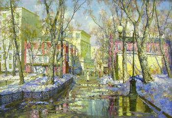 Spring on the Patriarch's. Obukhovskiy Yuriy