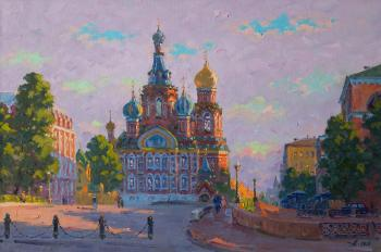Savior on the Spilled Blood, evening. Alexandrovsky Alexander