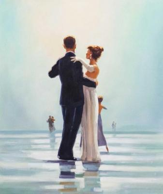 Copy of the picture of Jack Vettriano. Dance Me to the End of Love. Kamskij Savelij
