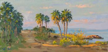 Alexandrovsky Alexander. Palm trees on the shore