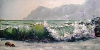 Medvedev-Orlovskiy Igor. Wave in the Crimea
