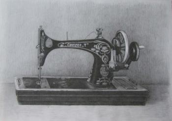 Levina Galina. Sewing machine GRITZER