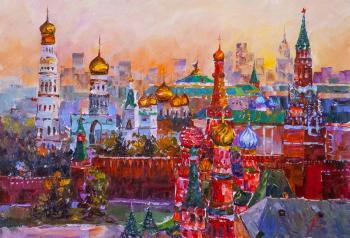 Golden-domed Moscow. JR Version (Moscow Golden-Domed). Rodries Jose