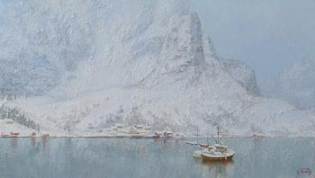 Panov Igor. Silence of polar Norway (After the snowfall)