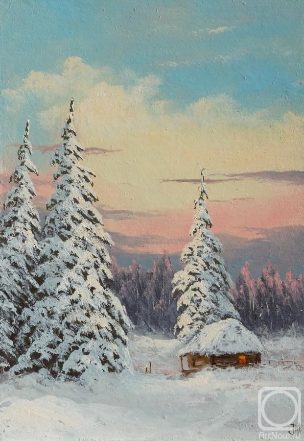 Lyamin Nikolay. Clear winter evening