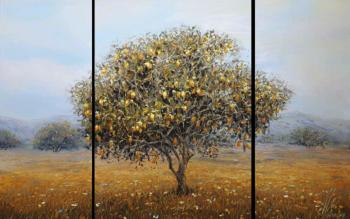 Lemon tree (triptych)