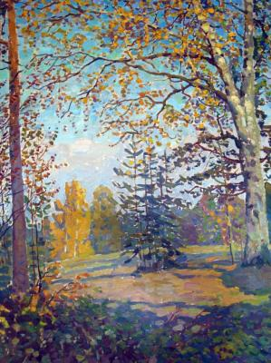 Autumn. Old birch. lavrinenko Ruslan