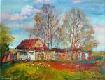 Biryukova Lyudmila. Spring may morning