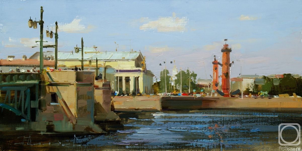 Shalaev Alexey. It's a wonderful day for a walk. St. Petersburg, Palace Emb