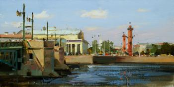 It's a wonderful day for a walk. St. Petersburg, Palace Emb. Shalaev Alexey