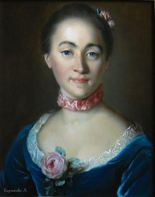 Portrait of Countess E. A. Golovkina. Copy Of Tokke, Louis. Biryukova Lyudmila
