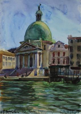 Venice, Church of San Simeone Piccolo. Dobrovolskaya Gayane