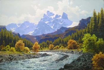 Autumn in the mountains (In The Mountains Of The Caucasus). Fyodorov Vladymir