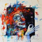 Moiseyeva Liana. Clown