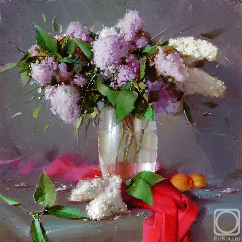 Gappasov Ramil. Still life with lilacs