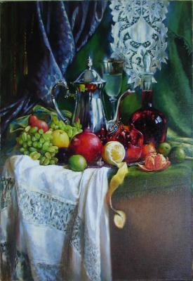 Fresh. Lemonade and pomegranate juice 70x50. Rostovskaia Nataly