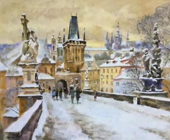 Izumrudov Valery. Prague, Charles bridge