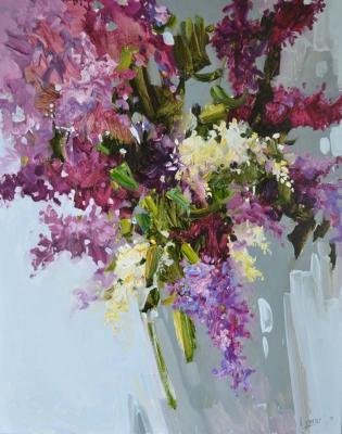 Lymar Tatyana. Lilac in bloom