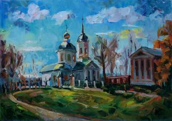 My dear province.The Estate Of The Goncharov-Chernyshev. Yaropolets near Volokolamsk. Silaeva Nina