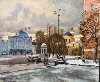 Izumrudov Valery. Moscow.At the Nikitsky gate