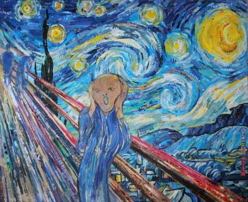 The Scream into the Starry Night. Lipacheva Maria