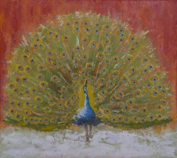 Sannikova Tatyana. The sacred peacock