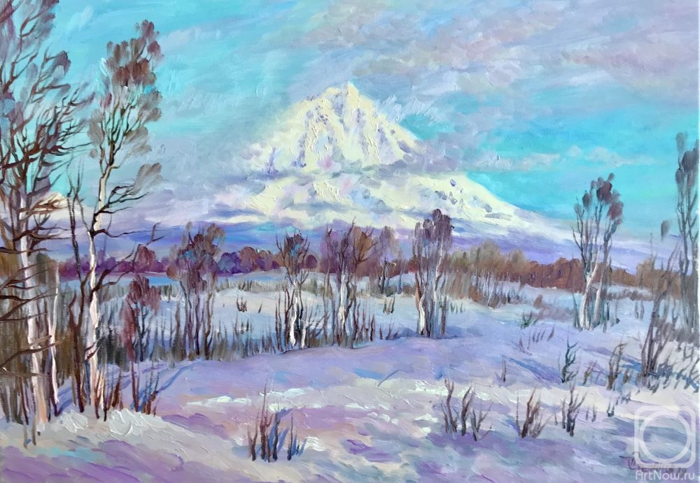Stepanov Pavel. The spring element. Koryak Volcano