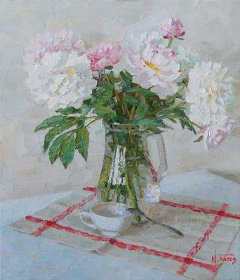 Panov Igor. It's time for peonies