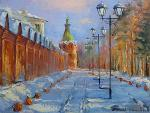 At the red wall. Skete. Iarovoi Igor