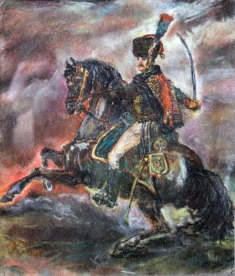 Klenov Sergey. Horse Chasseur of the Imperial Guard
