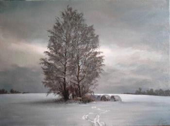 Seleznev Maxim. winter evening