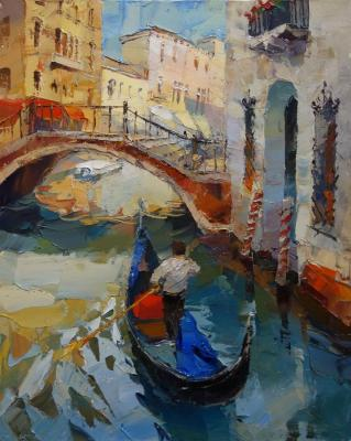 The Canals Of Venice (Sun Glare). Kotunov Dmitry