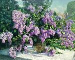 Zhukova Ludmila. Still life with lilacs