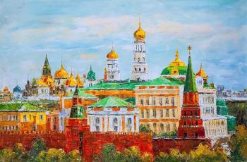 Golden-domed Moscow. Version AV (Moscow Golden-Domed). Vlodarchik Andjei