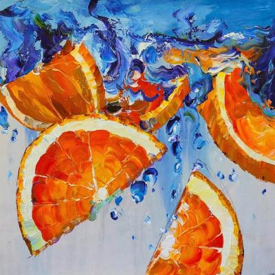 Citrus fresh. Oranges. Rodries Jose