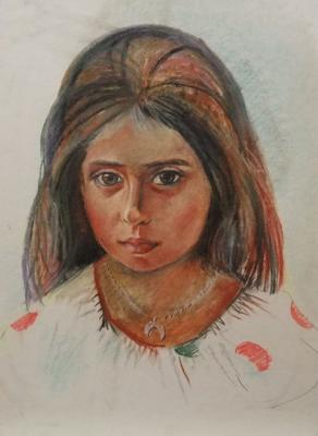"""The portrait of the armenian gire"""
