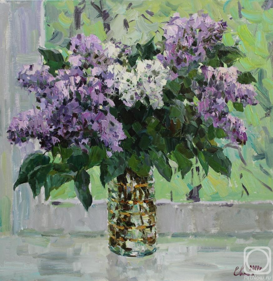 Malykh Evgeny. Bouquet of lilac