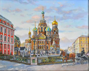 Biryukova Lyudmila. Savior on Spilled Blood