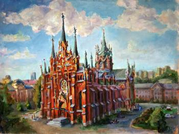 Silaeva Nina. Roman Catholic Cathedral of the Immaculate Conception of the blessed virgin Mary in Moscow