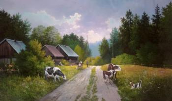 Stasyuck Andrey. Morning in the village