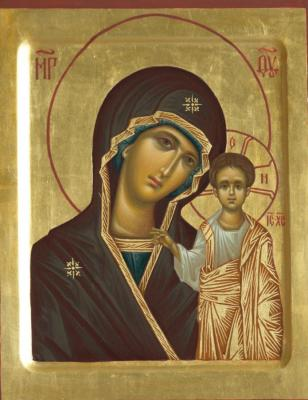 "Icon Of The Mother Of God ""Kazan"""