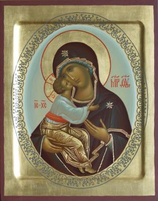 "The Icon Of The Mother Of God ""Zhirovichi"""